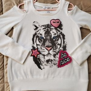 Girls 3D Tiger Shirt by Jessica Simpson XS 5/6